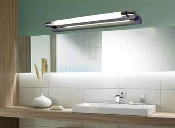 mirror front lamp